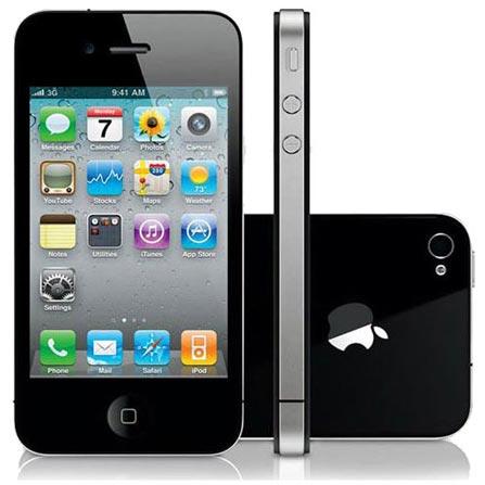 iPhone 4 Preto com Tela Retina de 3.5