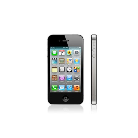iPhone 4s Preto com Tela Retina de 3.5