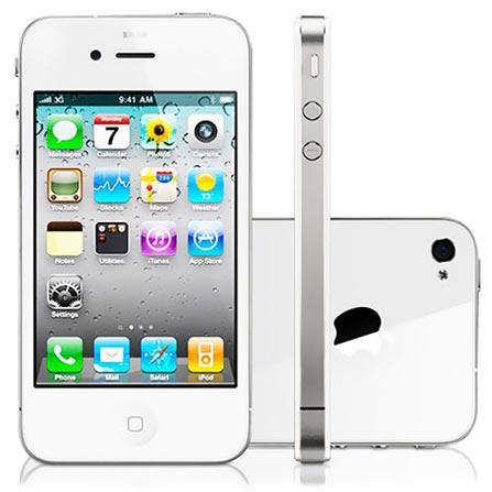 iPhone 4s Branco com Tela Retina de 3.5