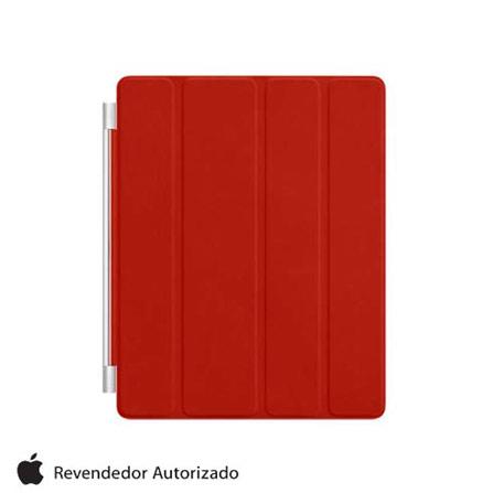 Capa Smart Cover Vermelho para iPad 2, 3 e 4 Apple, Vermelho
