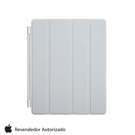 Capa Frontal Smart Cover para iPad 2, 3 e 4, Cinza