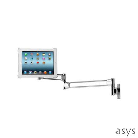 Suporte para iPad Cromado Wall Large Asys, Cromado