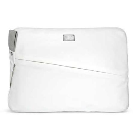 Capa de Polyester Branco para Notebook 13