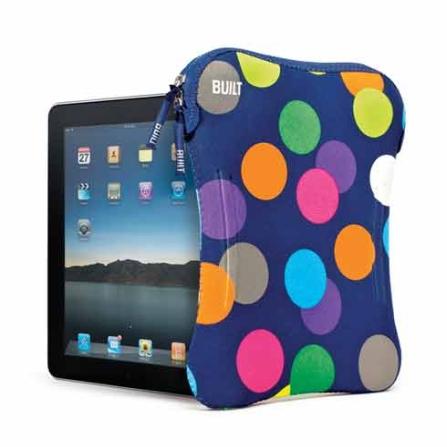 Capa Sleeve Azul e Colorida para iPad - Built - ELSPADSDT, Bege e Rosa