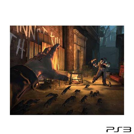 Jogo Dishonored para PlayStation 3 + DLC, PlayStation 3, Ação, Blu-ray, 16 anos, Não especificado, Não especificado, 06 meses