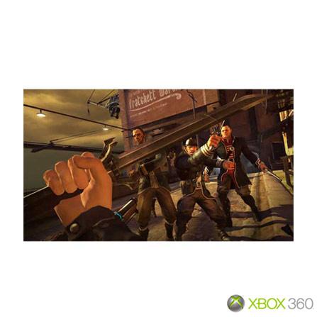 Jogo Dishonored para XBOX 360, Xbox 360, Ação, DVD, 18 anos, Não especificado, Não especificado, 03 meses