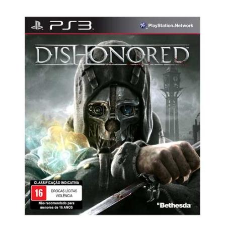 Dishonored PS3 + DLC ( Licença de Uso ) - Bethesda - PSDISHONORED