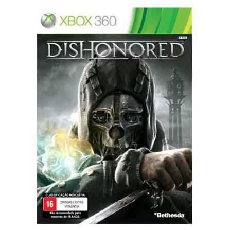 Dishonored XBOX 360 + DLC ( Licença de Uso ) - Bethesda - XBDISHONORED