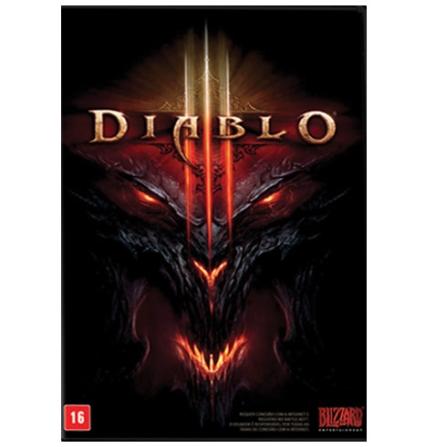 Mídia Diablo III para PC - Blizzard - CDDIABLOIII