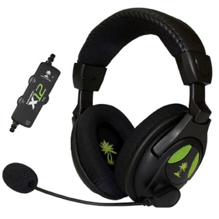 Fone de Ouvido com Fio para Xbox 360 - Turtle Beach - EAR Force X12