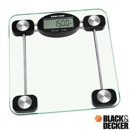Balança Eletrônica p/ Banheiro Black & Decker