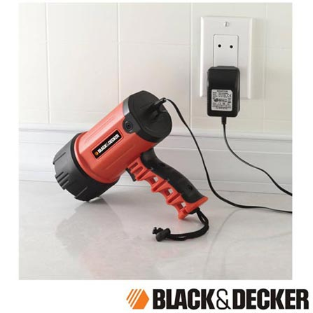 Farol Portátil de LED Recarregável Black & Decker - BSL100