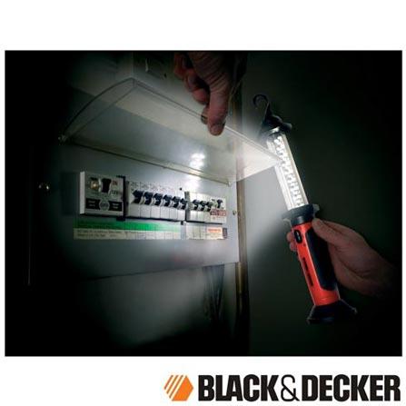 Lanterna de Emergência com 26 LED's Recarregável Black & Decker - BWL26-BR