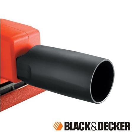 Lixadeira Orbidal de 1/3 de Folha de Lixa 135W Black & Decker - CD450, 110V, 220V