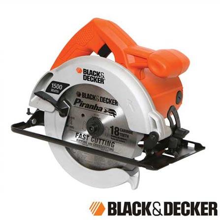 """Serra Circular de 7-1/4"""" (184mm) Profissional Black & Decker - CS1024-B2, 110V, 220V"""