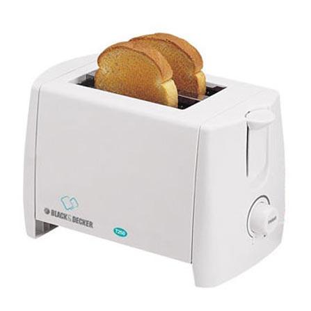 Torradeira de Pão Branco Black & Decker - HTAT250