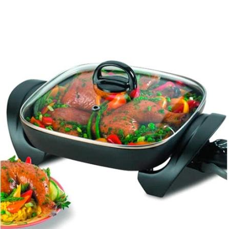 Panela Elétrica Cook Chefe com Acabamento Interno Antiaderente - Black & Decker  - PE100, 110V, 220V