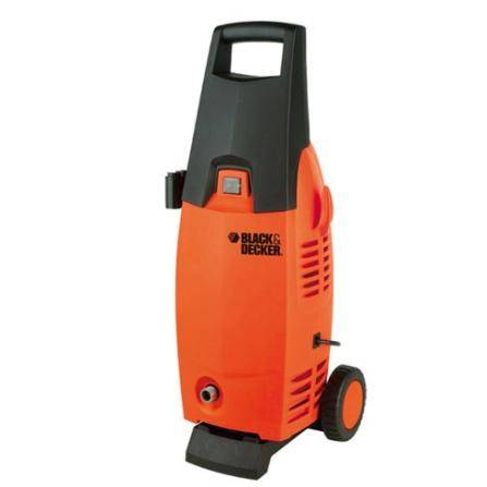 Lavadora de Alta Pressão / Potência de 1400W / Laranja e Preta / Black e Decker - PW1400BR