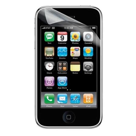 Película de Proteção para iPhone / Protege o seu iPod Contra Arranhões e Sujeira / Transparente - Belkin - F8Z333, Não se aplica