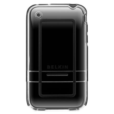 Capa Policarbonato Preta para iPhone - Belkin - F8Z461006