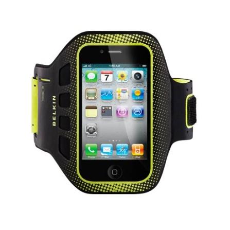 Braçadeira Preta para iPhone 4 - Belkin - F8Z894EBC00
