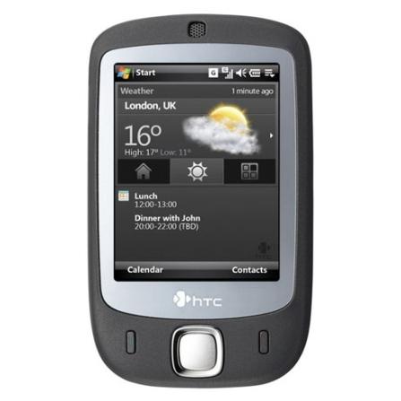 Celular GSM P3452 Cinza com Câmera 2.0MP / Tela Touchscreen / MP3 Player / Vídeo Streaming / Cartão de 1GB - HTC, Bivolt, Bivolt, Cinza, 2.3'', False, 1, N, True, True, False, True, True, True, I, 12 meses, Micro Chip