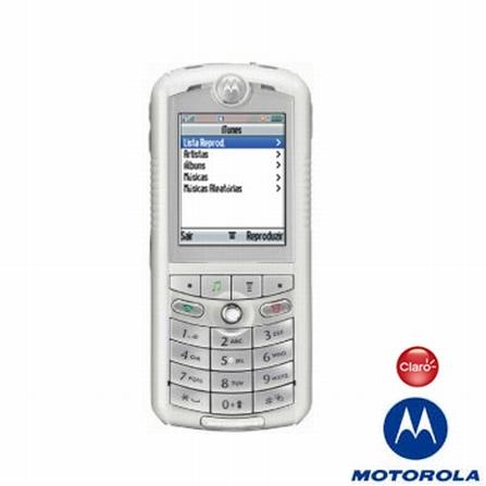 (RETIRAR SISTEMA 24/04) Celular GSM CLARO (DDD 11) E1 ROKR Motorola