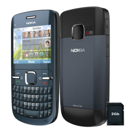 Celular Claro C3 Desbloqueado Com Wi-FI,2GB  Nokia