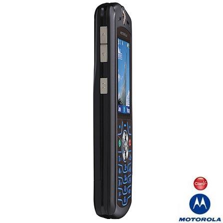 Celular GSM CLARO (DDD 11) MRL7 / Câmera VGA / Toques em MP3 / Bluetooth - Motorola + Chip SimCard Claro Pré
