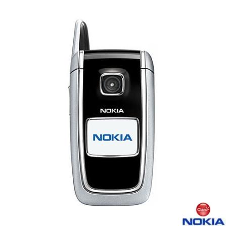 Celular GSM CLARO (DDD 11) 6101 + Chip SimCard Claro Pré - Nokia - CJ11RNA6101P