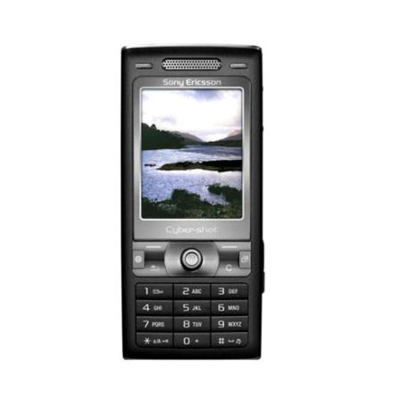 Celular GSM K790i Preto com Câmera 3.1MP Cyber-Shot e Flash Xenon / MP3 Player / Rádio FM / Bluetooth - Sony Ericsson +