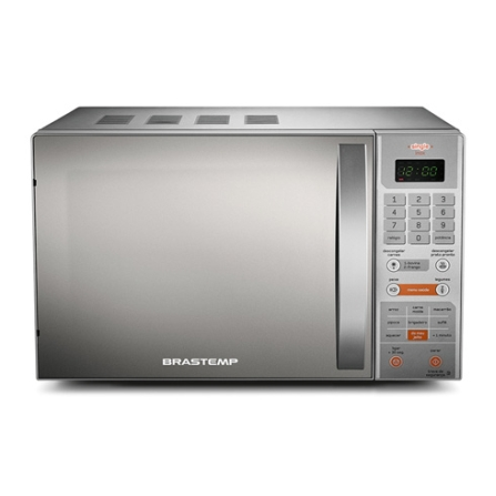 Forno de Micro-ondas 18L Single Brastemp, 110V, 220V