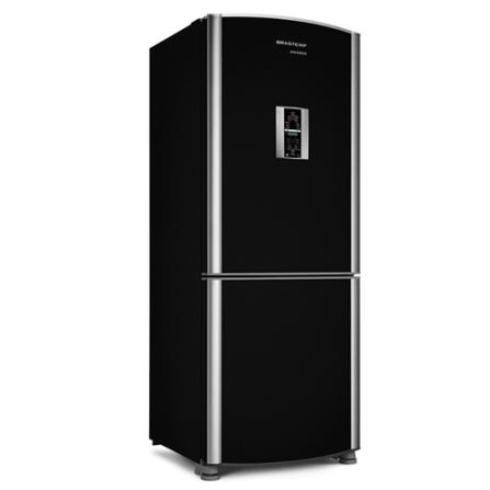 Refrigerador 2 Portas 425L Frost Free / Bar Expert / Preto - Inverse Brastemp - BRE49BE, 110V, 220V, De 351 a 500 litros, Freezer Invertido, 02 Portas, Sim, 425 Litros, 120 Litros, 305 Litros, 55kWh/mês (110V) e 53kWh/mês (220V)
