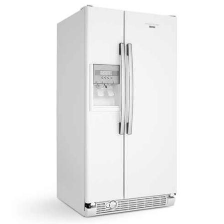 Refrigerador Side by Side c/ Dispenser de Água e Gelo Brastemp - BRS62BB, 110V, 220V, Branco, Acima de 500 litros, 561 Litros, 161 Litros, 400 Litros, Classe A, 77,5 kWh/mês, Sim, Sim, Sim, 12 meses, 02 Portas, Side by Side