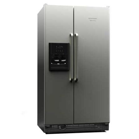 Refrigerador Side by Side 658L Frost Free Inox - Brastemp - BRS70GRANA, 110V, Inox, Acima de 500 litros, 658 Litros, 231 Litros, 427 Litros, Classe A, 85 kWh/mês, Sim, Sim, Sim, 12 meses, 02 Portas, Side by Side