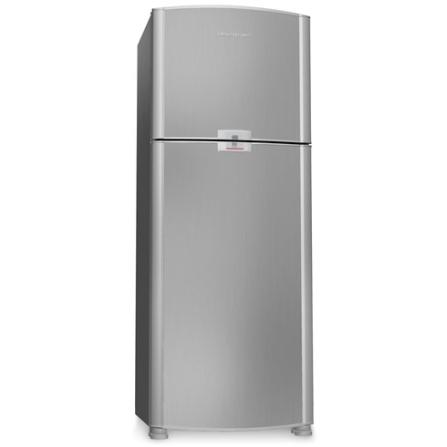 Refrigerador 2 Portas 432L Ative Brastemp, 110V, 220V, Inox, 02 Portas, 01 ano, 432 Litros, 02 Portas, Sim, 56 KWh/mês (220V), De 351 a 500 litros