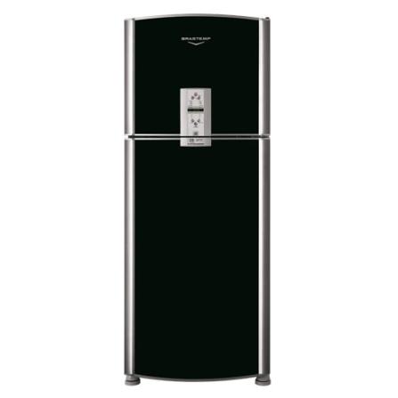 Refrigerador Duplex 419L Frost Free Brastemp, 110V, 220V, De 351 a 500 litros, 02 Portas, 02 Portas, 419 Litros, Sim, 96 Litros, 323 Litros, Inox