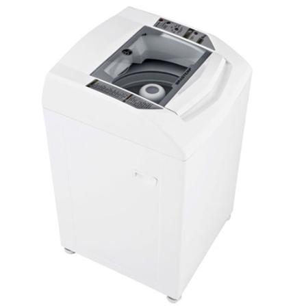Lavadora de Roupa 8Kg / Painel Eletrônico / Branca - Clean Brastemp - BWC08AB, 110V, 220V, Branco, De 7 kg a 9 kg, 08 kg, Lavadora