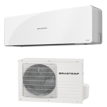 Condicionador de Ar Split Clean - Brastemp, 220V, LA, 12.000 BTUs, Split, 12.000 a 18.500 BTUs