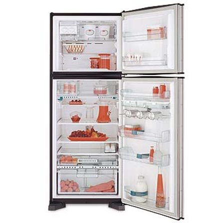 Refrigerador Duplex 439L Frost Free Inox  Sexto Sentido Brastemp - XRX48DR