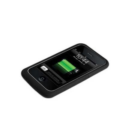 Capa Carregadora e Protetora Preta para iPhone 3G/3GS - Case Mate - CM010092