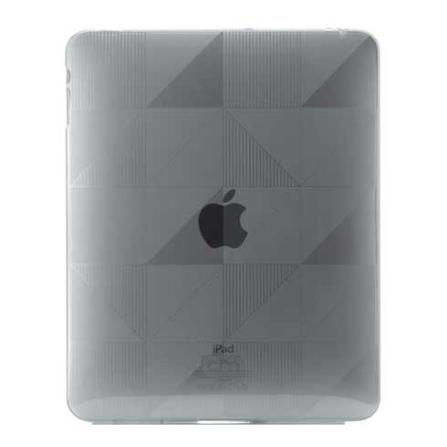 Capa de Plástico Flexível Cinza com Formas Geométricas para iPad - Case Mate - CM011196