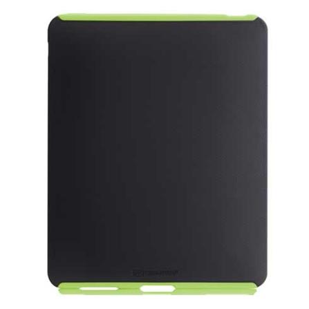 Capa Emborrachada para iPad - Case Mate, Preto e Verde