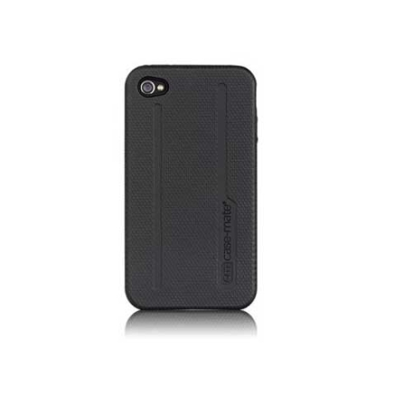 Capa Emborrachada Preto para iPhone4 - Case Mate - CM011660, 06 meses