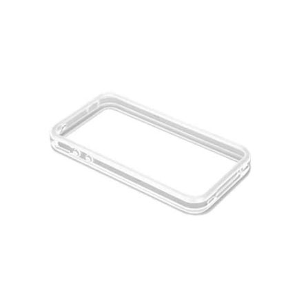 Capa de Silicone Hula Bumper Branco para iPhone 4 - Case Mate - CM012090
