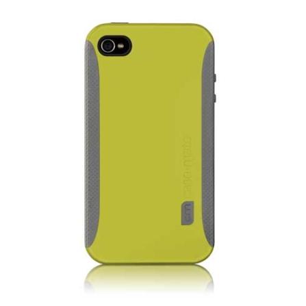 Capa Emborrachada Verde POP para iPhone4 - Case Mate - CM012194, Verde, 06 meses