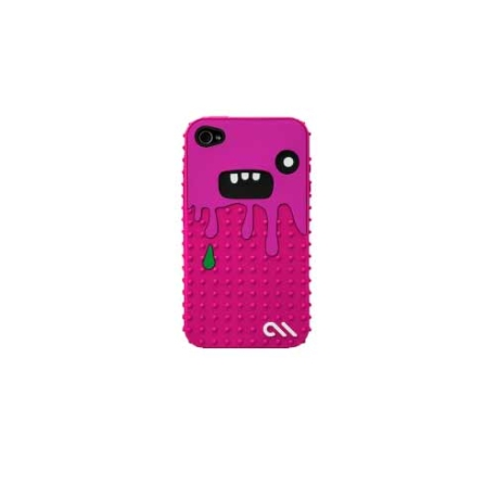 Capa de Silicone Monsta Rosa para iPhone 4 - Case Mate - CM013468