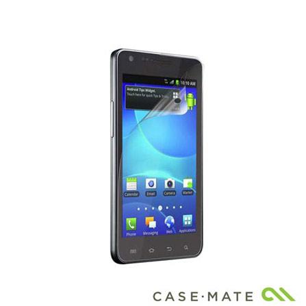 Película Transparente para Samsung Galaxy SII - Case Mate - CM016328, Não se aplica, 06 meses