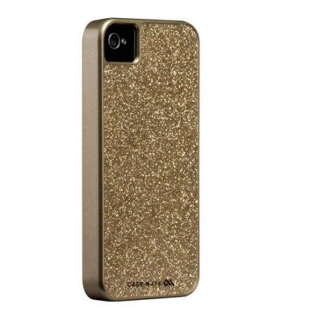 Capa em Porpurina para iPhone 4S - Dourada - Case Mate - CM017732