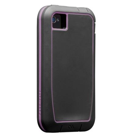 Capa Rígida Phanton para iPhone 4S - Cinza e Roxo - Case Mate - CM019275